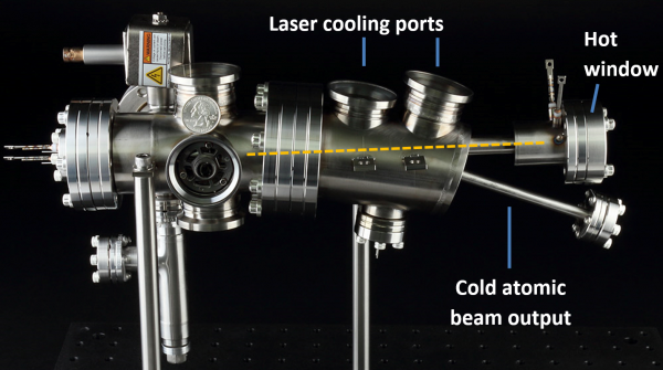 Cold Atomic Beam System